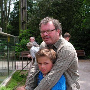 Bruno et son cher fils David