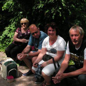 Chantal, Christophe, Myriam et Philippe