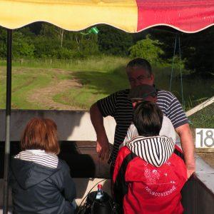 Sylvain au barbecue