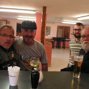 Dany, Ernest et Benoït