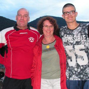 Didier, Myriam et Axel