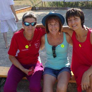 Christiane, Maryse et Véronique