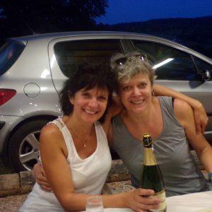 Estelle et Brigitte