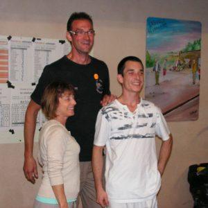 Maryse, Thierry et Benjamin