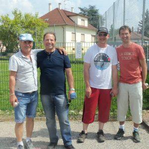 Ernest, Yves, Frédéric, Christian