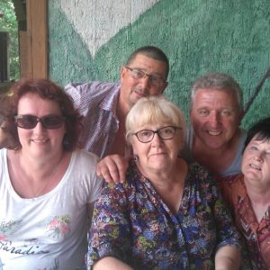 Yves, Marc, Myriam, Chantal, Martine en mode tout sourire...cheese...