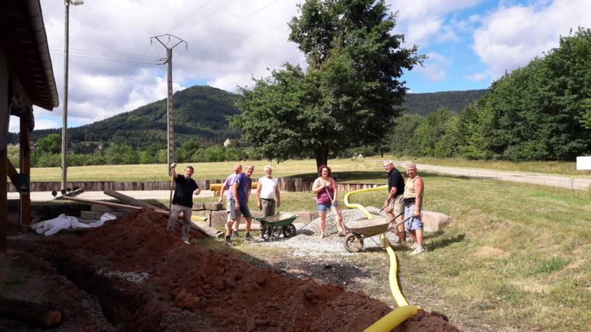 Travaux de drainage juin 2017