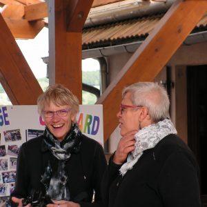 Nicole et Pascale pour la remise des prix